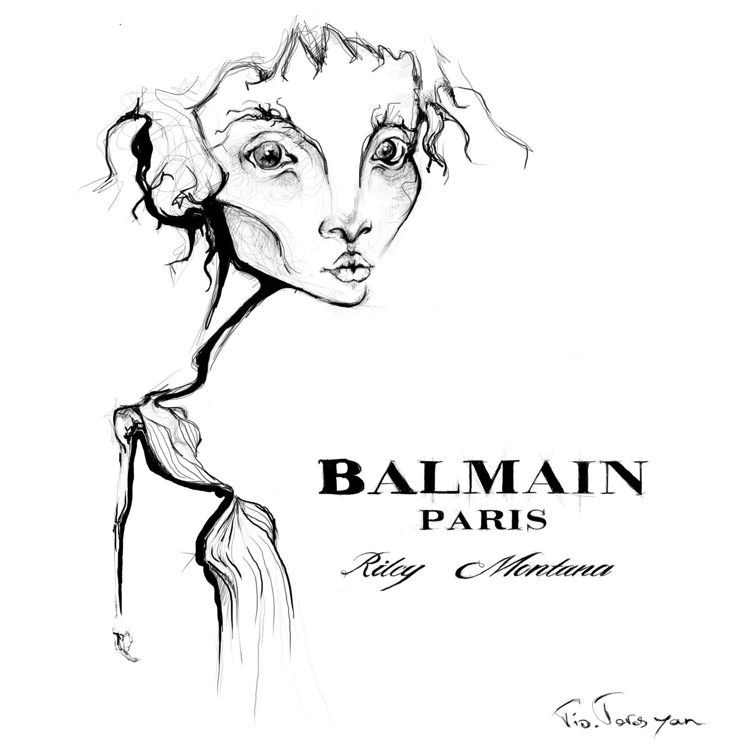 balmain-tio-torosyan-the-fashion-jumper-fashion-illustration