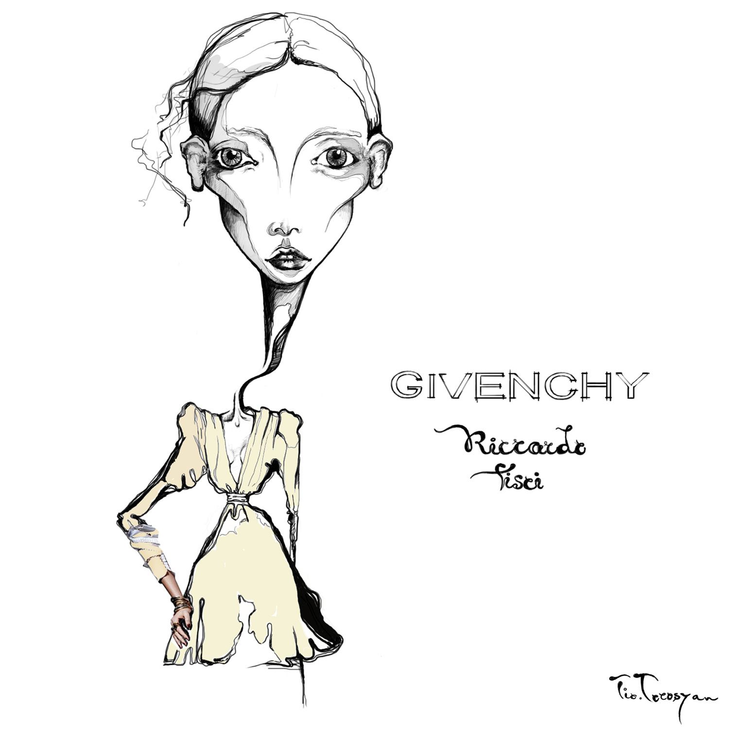 givenchy-ricardo-tisci-tio-torosyan-fashion-illustration-the-fashion-jumper